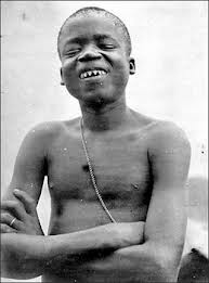 ota benga teeth and smile